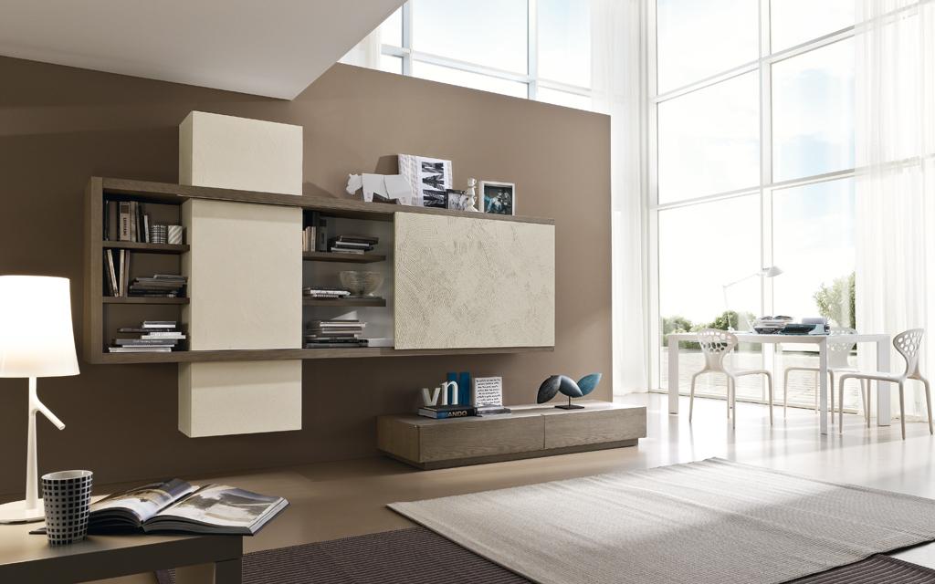 Arredamento soggiorno siena arredopi for Minimal home mobili