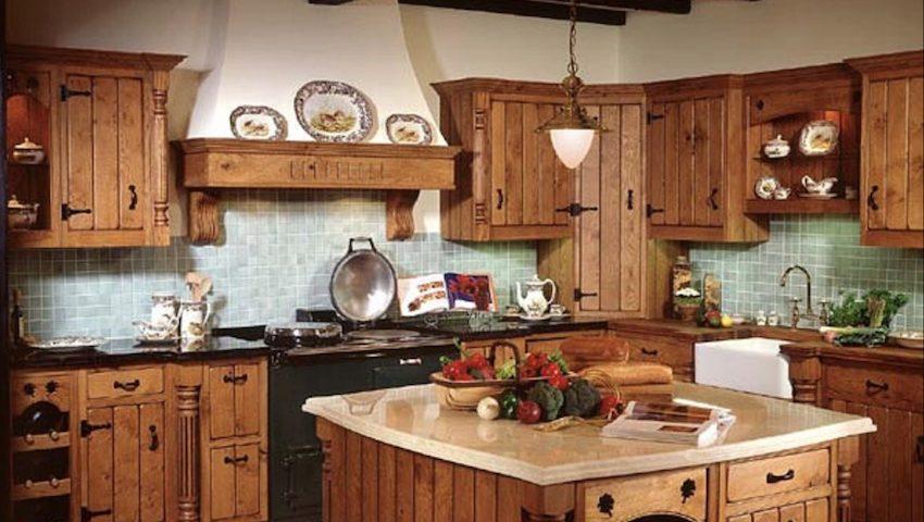 L\'arredamento per la cucina stile country - ArredoPiù ...