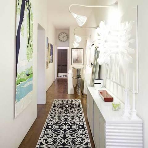 La scelta dell arredamento per un corridoio stretto e for Arredare corridoio stretto e corto