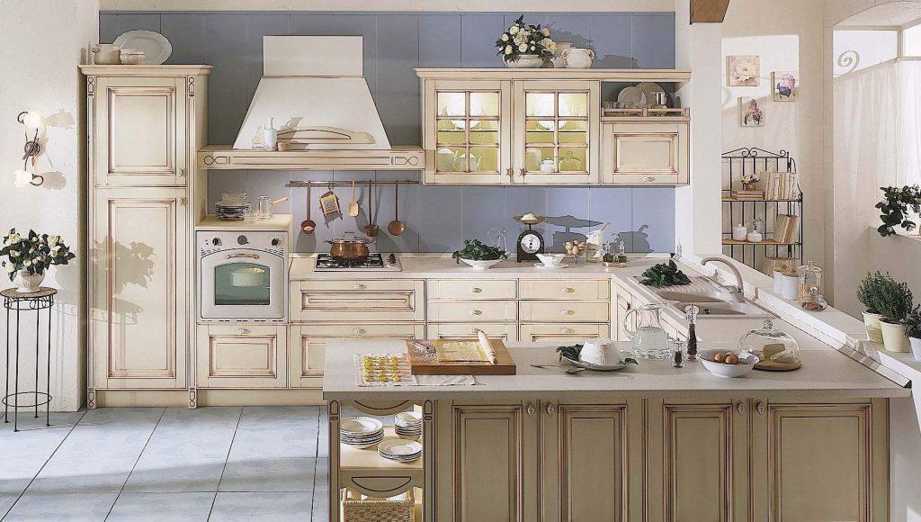 Arredo cucina in stile provenzale arredopi for Arredo cucina design