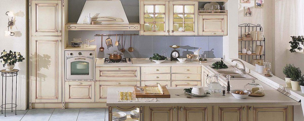 Arredo cucina in stile provenzale - ArredoPiù - Arredamento e design