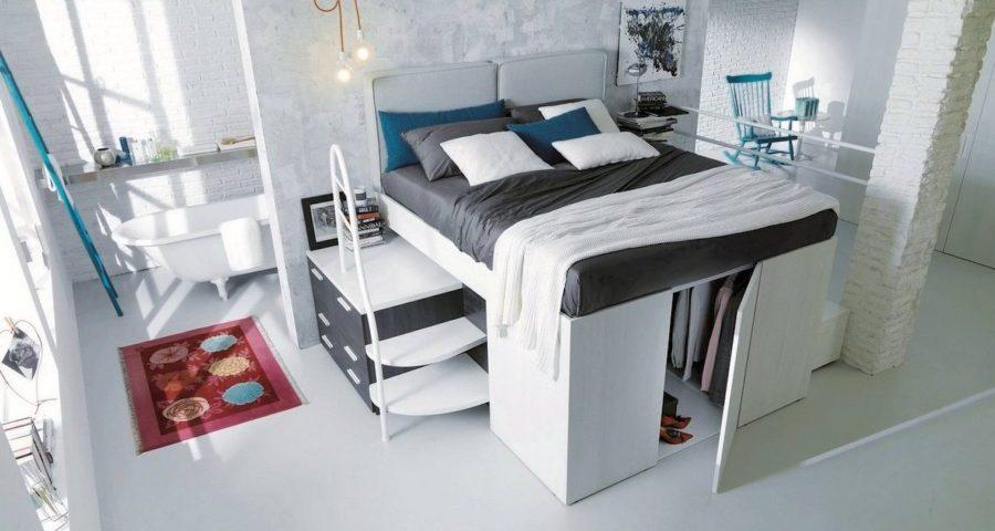 Soluzioni per l\'arredamento di una camera da letto piccola ...