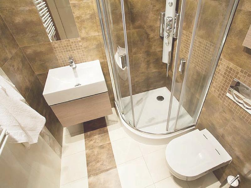 I bagni piccoli vengono spesso visti come una cosa for Spazio 5 arredamenti